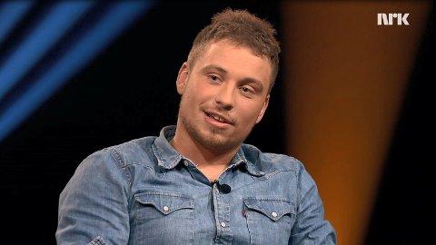 TV-AKTUELL: Isak Dreyer, som nylig vant tittelen som «Norges tøffeste», gjester «Lindmo» denne uken.