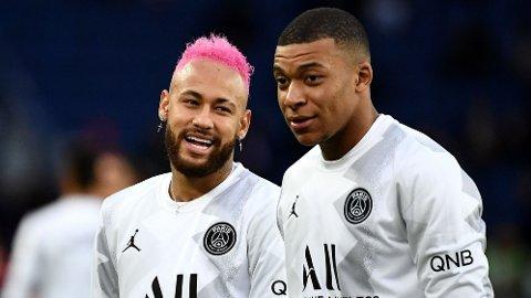 STJERNER: Neymar og Kylian Mbappe er PSG sine to største stjerner.