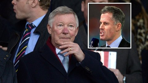 - TOK FEIL: Jamie Carragher mener Alex Ferguson tok feil da han uttalte seg om Manchester Citys fremtid.
