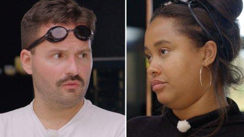 SEMIFINALE: Hasse Hope og Fetisha Williams måtte mandag kjempe om den siste semifinaleplassen.