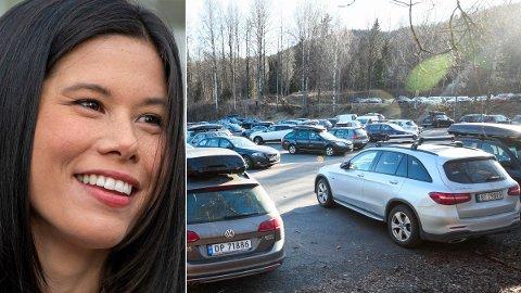 FYRER LØS: MDG-byråd Lan Marie Berg synes lite om Arbeiderpartiets nye valgløfter til bilistene.