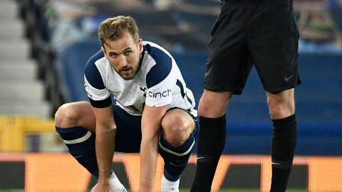 Tottenhams Harry Kane er ute med skade.