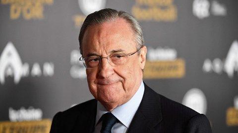 Florentino Perez er president i Real Madrid og hadde også samme rolle i Super League.