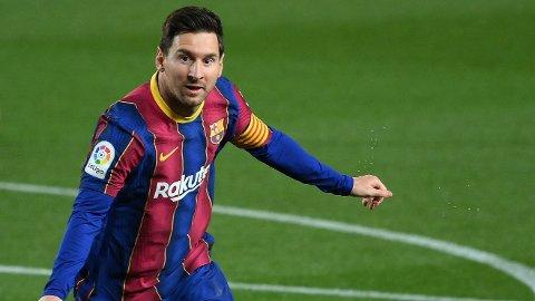 Lionel Messi noterte seg for nye scoringer for Barcelona torsdag kveld.