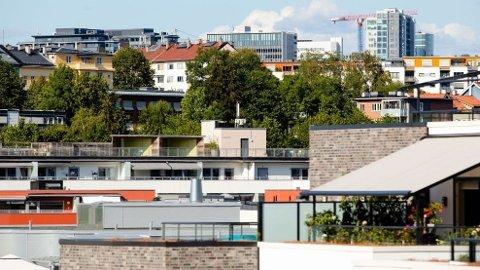 RENTEEFFEKT: Lavere renter slår hardest i Oslo på boligprisene, men hovedproblemet er at det bygges for få boliger i hovedstaden.