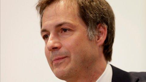 TRENGER HJELP: Den belgiske statsministeren Alexander De Croo frir til Tyskland for bidrag til sengeplasser.