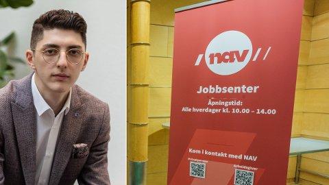STRENGERE: Leder av Høyres mangfoldsutvalg, Mehmet Kaan Inan, mener det må innføres en aktivitetsplikt for flyktninger som får sosialhjelp fra NAV. - Det vil være klokt å gjøre, sier han til Nettavisen.