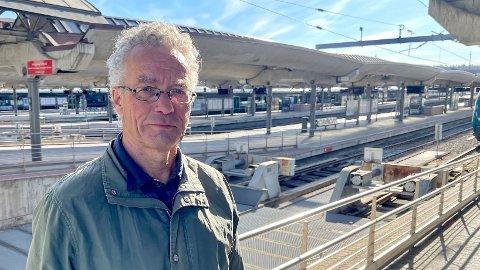 OPTIMIST:- Hurtigtoget fra Moskva til Helsinki har taxfree-ordning, sier Rasmus Hansson (MDG).