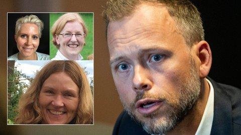 ABORTSTRID: Legene Jannicke Andresen, Elisabeth Selvaag og Astri Lang i Barnelegeforeningen kommer med tydelig beskjed om SVs nye abortvedtak.