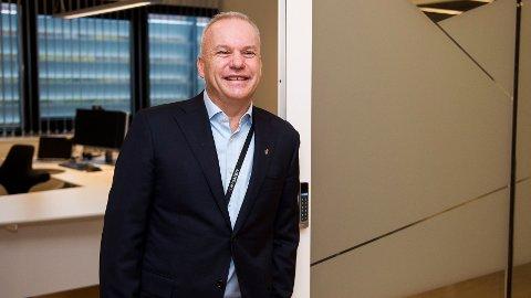 KNALLSTART: Salg av andeler i fornybarprosjekter og høyere olje- og gasspriser bidro til en solid start på året for konsernsjef Anders Opedal og Equinor.