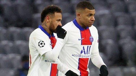 STORKAMP: Neymar og Kylian Mbappé får besøk av Manchester City.
