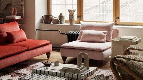 Nytt trekk på møblene kan gjøre underverker for stua di.