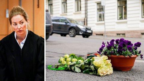 DREPT PÅ ÅPEN GATE: En 51 år gamle kvinnen ble skutt og drept på Frogner. Bistandsadvokat Ida Andenæs (bildet) sier at den drepte kvinnens barn blir godt tatt vare på av familie.
