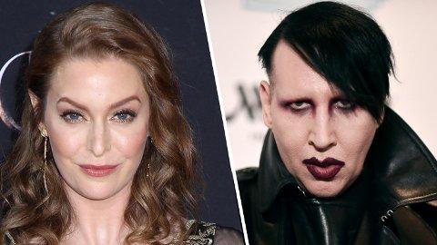 SAKSØKER: Esmé Bianco har saksøkt Marilyn Manson for en rekke handlinger.