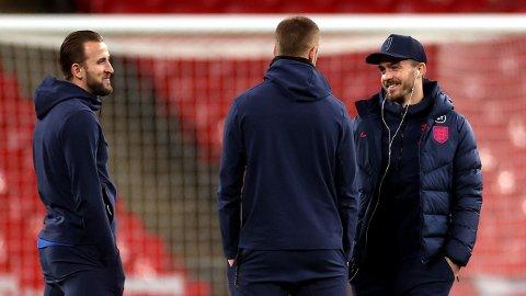 TIL UNITED?: Roy Keane mener Manchester United bør sikte seg inn på England-duoen Harry Kane og Jack Grealish.