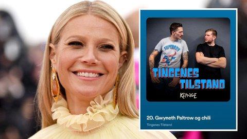 KRASS KRITIKK: I podkasten «Tingenes Tilstand» får Gwyneth Paltrow krass kritikk fra kjemiker Alexander Sandtorv.