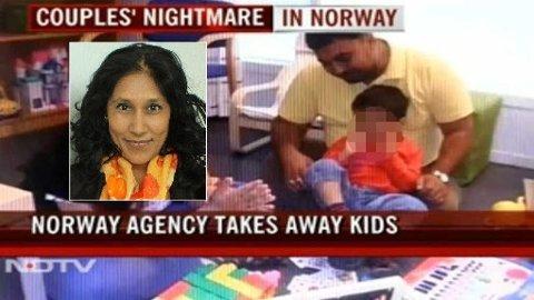 DRAMA: Et norsk barnevernsdrama blir snart å finne på det indiske kinolerretet. Det kan skade Norges omdømme i utlandet, mener forfatter Rina Sunder (innfelt).