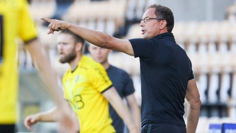 OVERRASKET I FJOR: Christian Johnsen ledet Raufoss til kvalifisering til Eliteserien i 2020-sesongen.