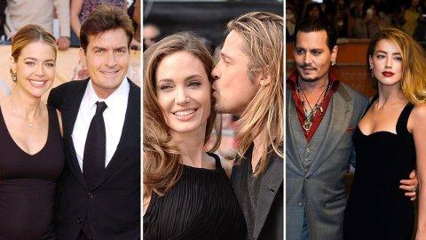 SKILSMISSER: Flere finner lykken med hverandre i Hollywood, men det ender ikke alltid godt.