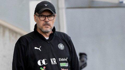 TROR PÅ FREMGANG: HamKam fikk en opptur da Kjeti Rekdal tok over som trener underveis i forrige sesong.