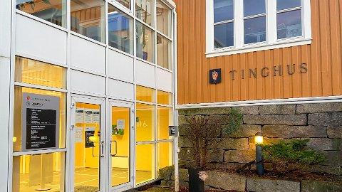 Farsund tinghus er ett av tre rettssteder i Agder tingrett.