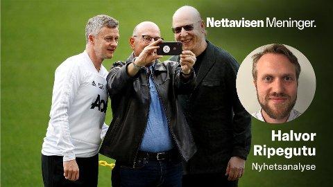 I HARDT VÆR: Manchester Uniteds eiere, her ved Joel og Avram Glazer, er grunnen til heftige demonstrasjoner fra klubbens supportere.