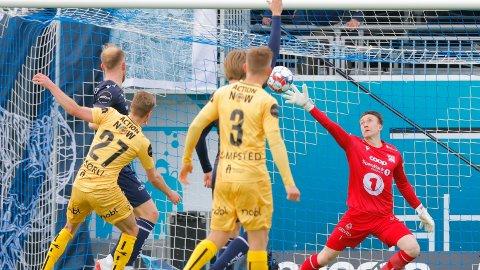 SCORING: Sondre Sørli scoret mot gamleklubben Kristiansund.