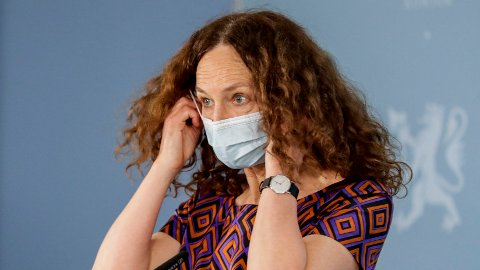 Camilla Stoltenberg sier det ikke er sikkert hvilke kommuner som får ekstra vaksinedoser.