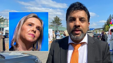 Styreleder i ICC-moskeen Arshad Jamil stiller spørsmål ved hvem Frp-toppen Sylvi Listhaug retter kritikken mot. Han mener hun bør motivere og ikke peke på andre i en krevende tid.