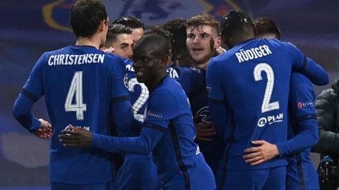 Timo Werner (midten) har vært involvert i flere scoringer enn noen annen Chelsea-spiller denne sesongen.