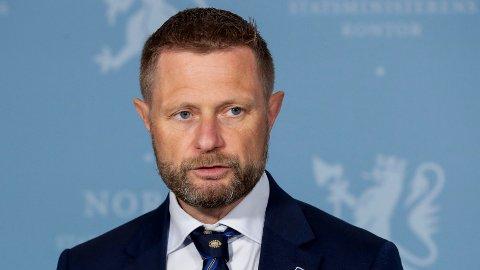 Helse- og omsorgsminister Bent Høie (H) sier Norge følger nøye med på spredningen av den indiske virusvarianten.