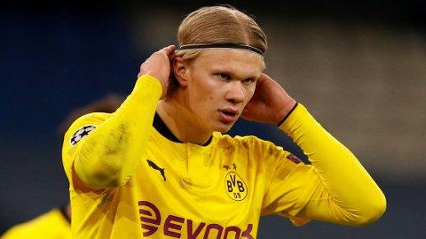 ETTERTRAKTET: Erling Braut Haalands storspill for Borussia Dortmund har gjort han til en svært ettertraktet mann.