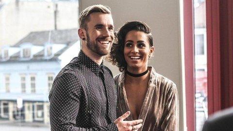 VENTER BARN: Stian og Jamina Blipp venter barn nummer to sammen.