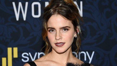 UT MOT RYKTENE: Emma Watson tar bladet fra munnen og tar et oppgjør med ryktemølla på Twitter.
