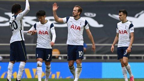 Harry Kane og Tottenham er store favoritter i kveldens hjemmekamp mot Aston Villa.