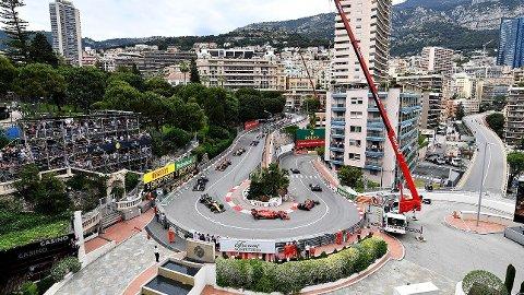 Fairmont-svingen i 2019 i Monaco Grand Prix.