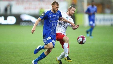 Thomas Drage (t.h.)er en opprykksspesialist.Han har rykket opp til Eliteserien med tre forskjellige klubber.