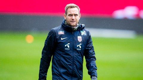 LANDSLAGSSJEF: Martin Sjögren har sett flere av sine landslagsspillere returnere til Toppserien før kommende sesong.