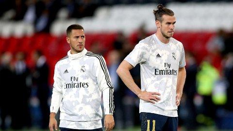 PÅ VEI BORT?: Eden Hazard og Gareth Bale skal være på vei ut dørene på Santiago Bernabeu.