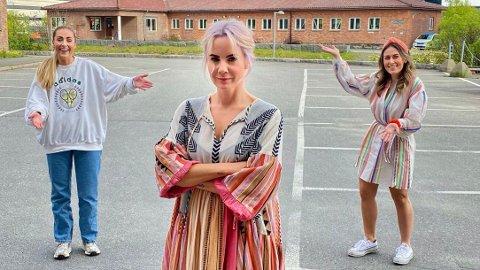 Ina Wroldsen gjester Nettavisen-podkasten «Schendis» med programlederne Julie Solberg og Rikke Monsen.