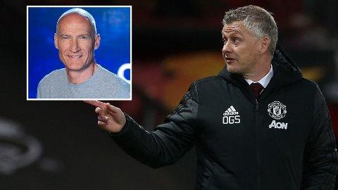 TROR PÅ UNITED: Erik Thorstvedt (innfelt) mener omgivelsene mer eller mindre krever et Manchester United-trofé.