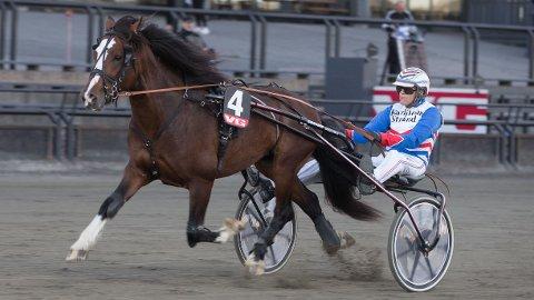 Ove A. Lindqvist er aktuell i kveldens jackpotomgang. Foto: Anders Kongsrud/www.hesteguiden.com.