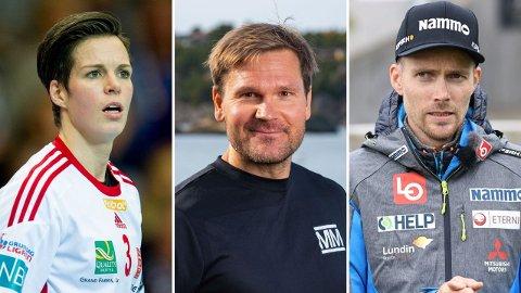 NY SESONG: Anja Hammerseng-Edin, Øystein Pettersen og Bjørn Einar Romøren er blant deltakerne i den neste sesongen av «Mesternes mester».