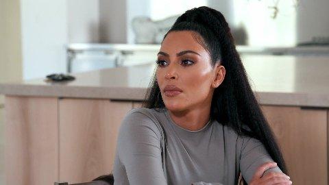 SMITTEUTBRUDD: Kim Kardashian og hennes fire barn ble smittet av koronaviruset høsten 2020.