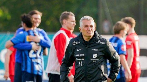 Brann-trener Kåre Ingebrigtsen er på jakt etter poeng.