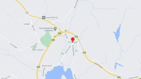 En person falt flere meter i en arbeidsulykke på Eidanger i Porsgrunn.