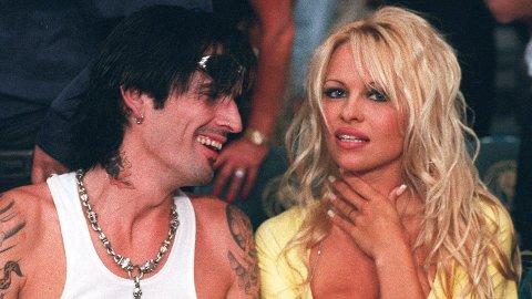 SKANDALE: Tommy Lee og Pamela Andersons sextape gikk verden rundt, og er nå bakteppet for en ny miniserie. Her er eksparet avbildet i 1995.