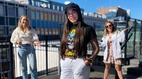 NY EPISODE: Kristin Gjelsvik gjester Nettavisen podkasten «Schendis» med programleder Julie Solberg og Rikke Monsen.