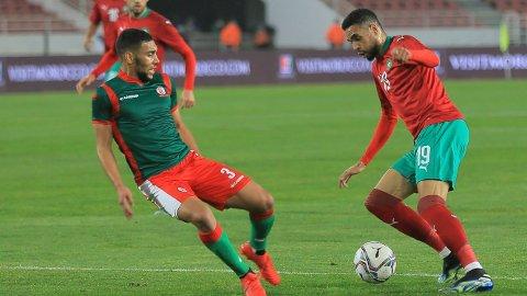 Youssef En-Nesyri er i søkelyset til flere klubber i Premier League. Vi tror han kan hjelpe Marokko til seier mot Ghana i tirsdagens privatlandskamp.