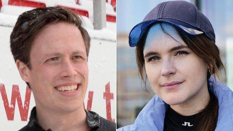 SAMMEN: Emil Gukild og Linnéa Myhre er Norges nye kjendispar.